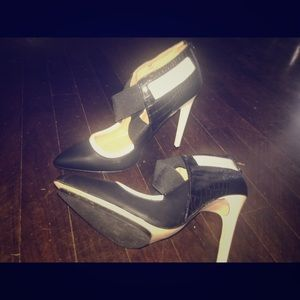 GX by Gwen Stefani Black & White Heels